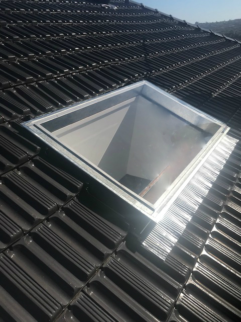 Skylight installation in Bellevue Hill, Sydney