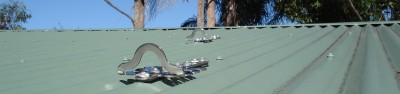 Roof Safety Anchors On Northern Beaches Roof