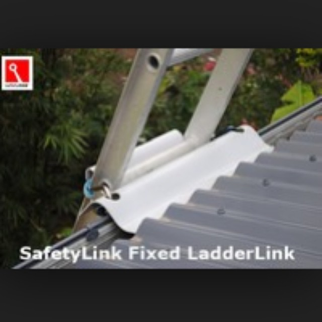 Sydney Anchor Points can help make your hone safe with fixed ladder brackets to your wall or roof.  #ladder #ladderbrackets #roofsafety
